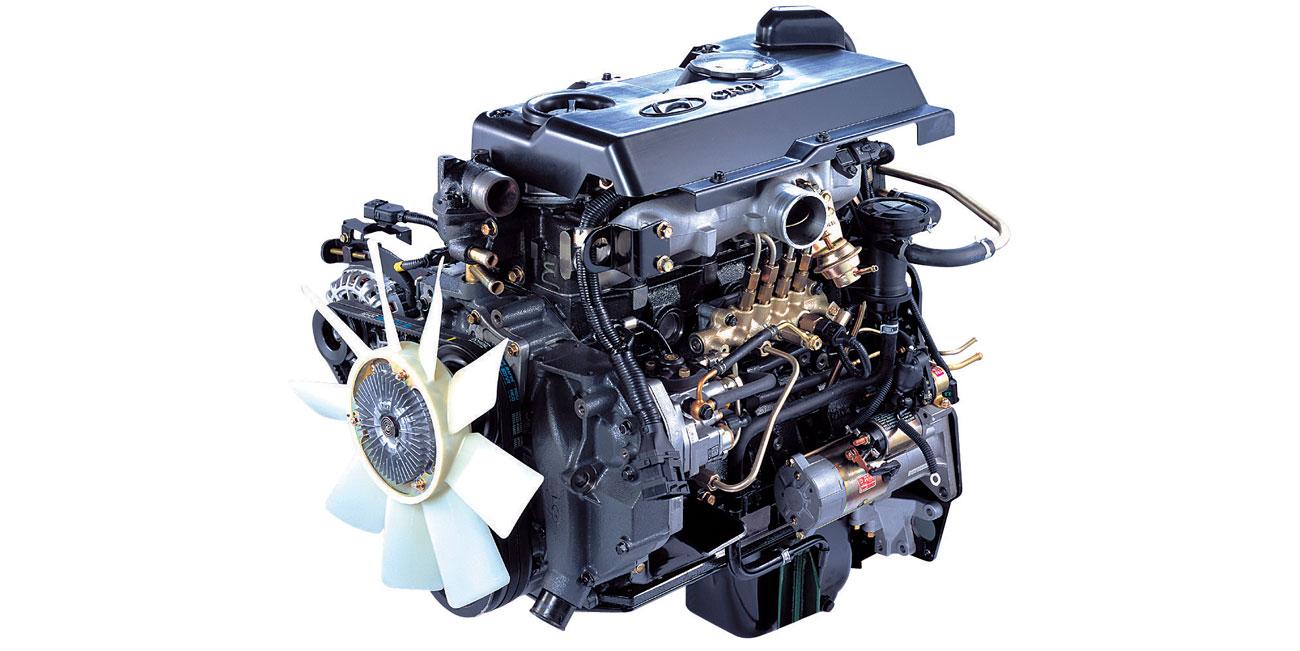 موتور پر قدرت D4DD