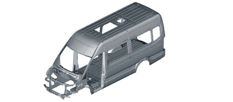 Full Monocoque Body